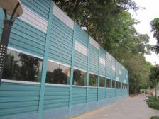 校园声屏障